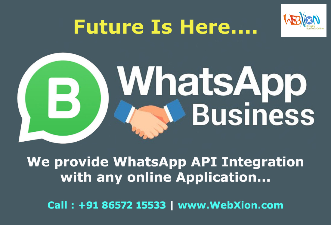 WebXion - WhatsApp for Business in Pakistan | CRM Integration with